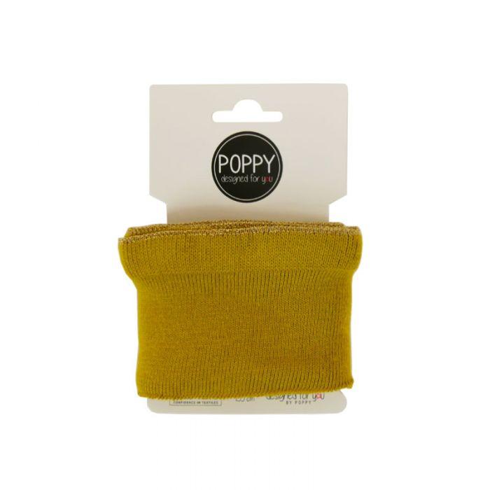 Bord-côte Oeko-tex lurex - Poppy