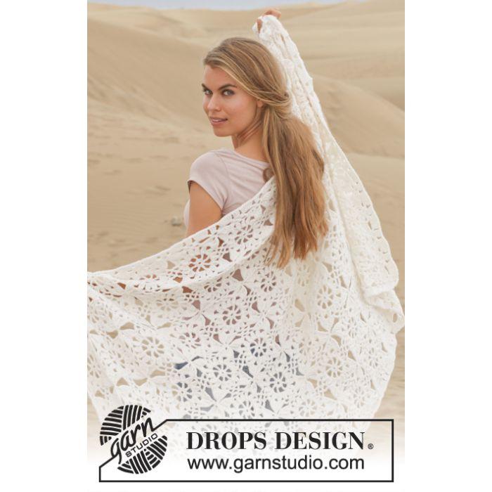 Kit crochet couverture Do As You Dream - DROPS Design