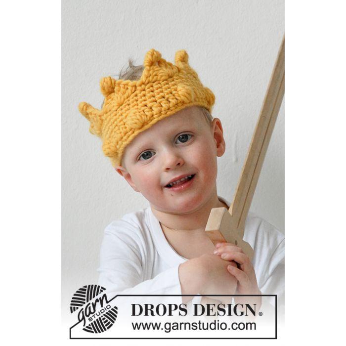 Kit crochet couronne King Arthur - DROPS Design