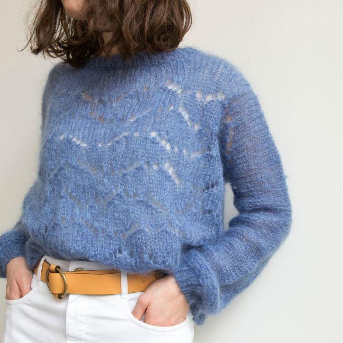 Kit tricot pull Iceberg - Charlotte Sometime