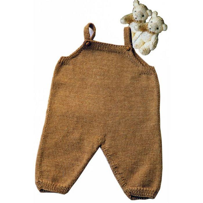Kit tricot layette La salopette - les Tricots de Citronille