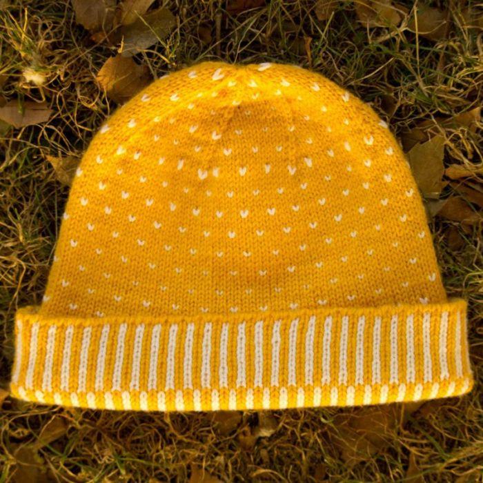 Kit tricot Bonnet Lys - Lucile Ateliers Designs