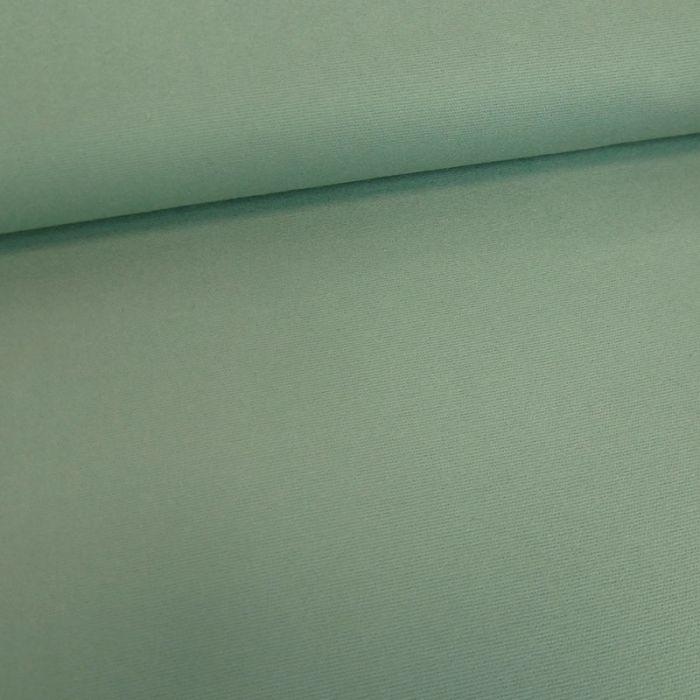 Tissu flanelle coton uni - vert sauge x 10 cm