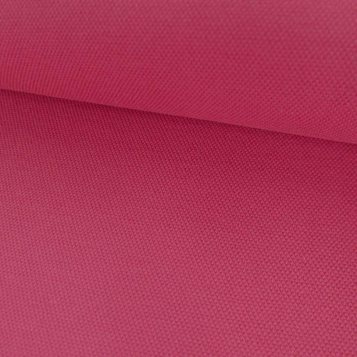 Tissu jersey piqué polo - rose fuchsia x 10cm
