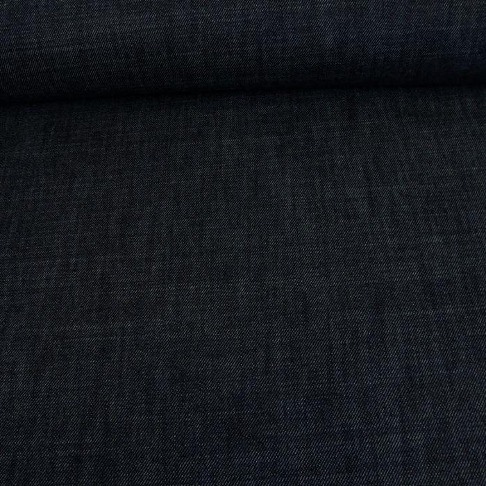 Tissu denim - bleu foncé x 10 cm