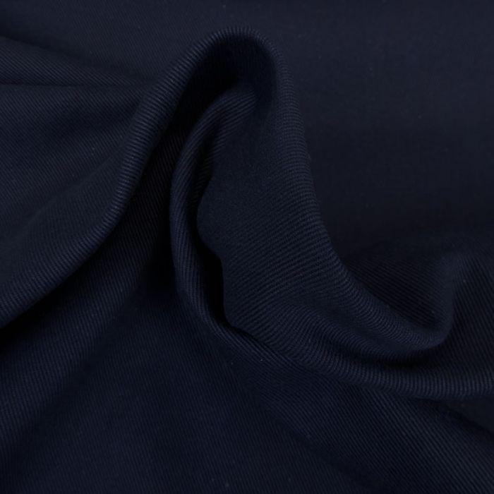 Tissu denim - bleu marine x 10 cm