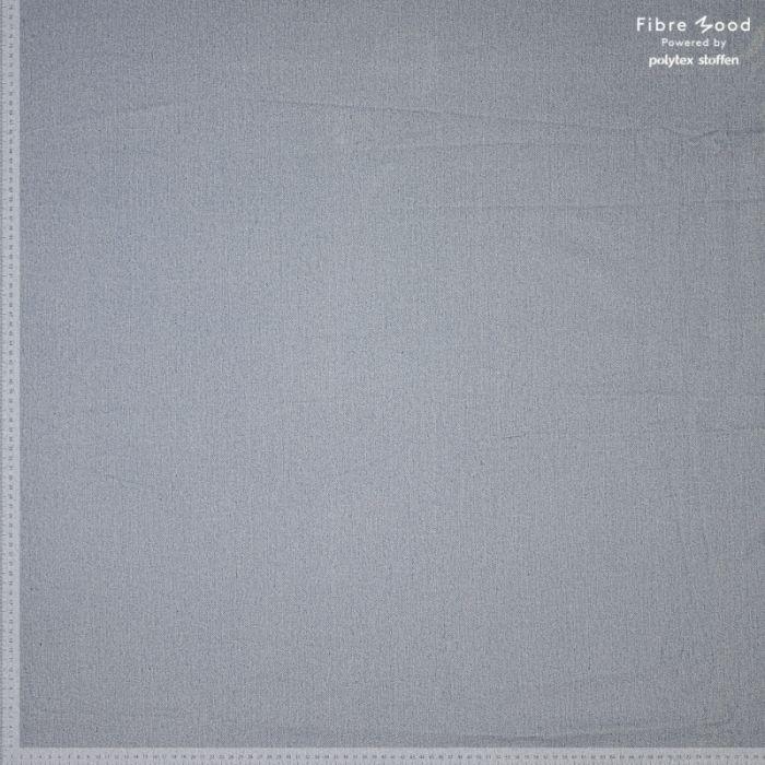 Tissu denim bleu clair délavé  - Fibre Mood x 10 cm