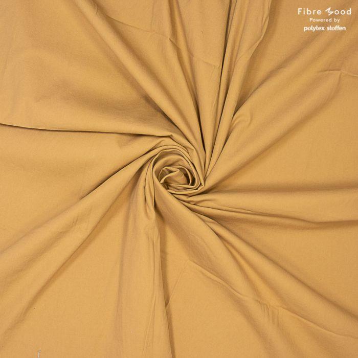 Tissu jean denim camel - Fibre Mood x 10 cm