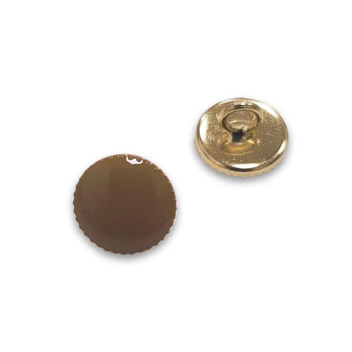 Bouton à pied métal doré - camel x1