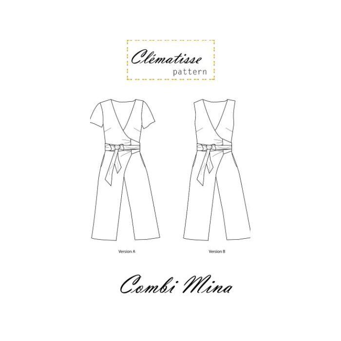 Combinaison Mina - Clématisse Pattern