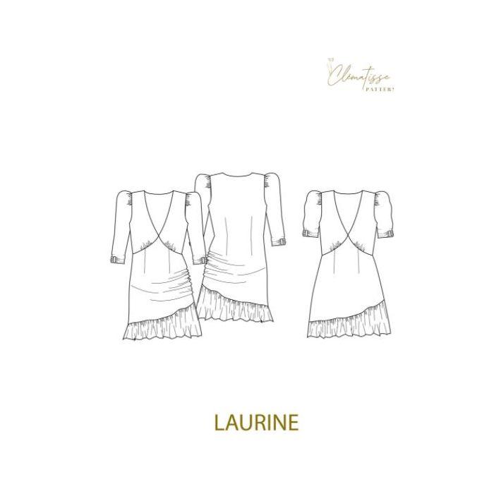 Robe Laurine - Clématisse Pattern