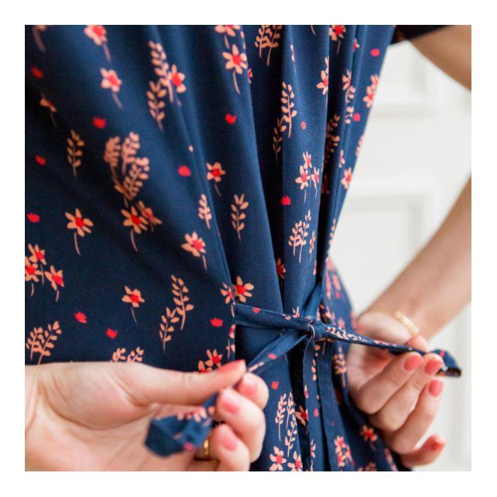 Tissu viscose Brise d'été - Lise Tailor x 10 cm