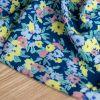 Tissu viscose Blue garden - Lise Tailor x 10 cm