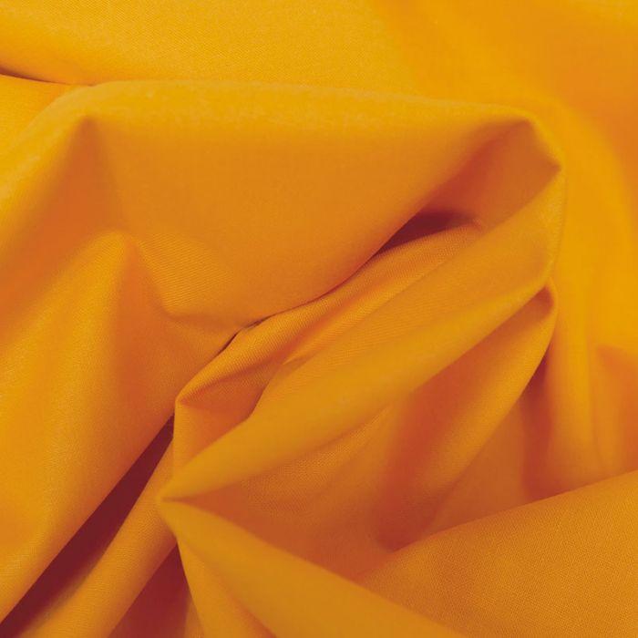 Tissu coton uni - tangerine x 10 cm