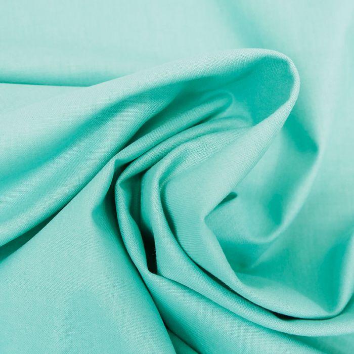 Tissu coton uni - cockatoo x 10 cm
