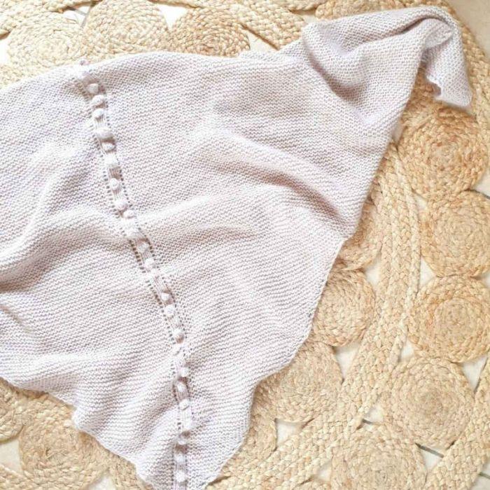 Kit tricot châle Alba - Mamy Factory