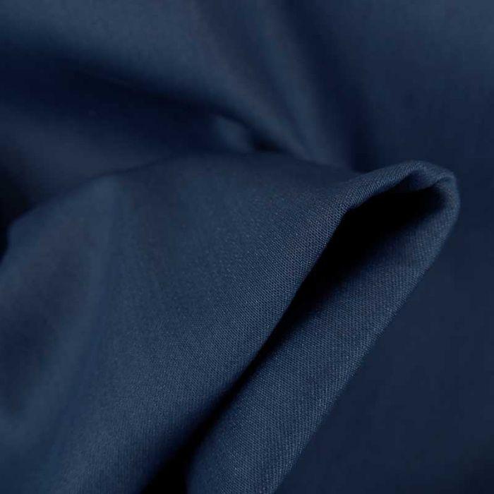 Tissu denim stretch - bleu foncé x 10 cm