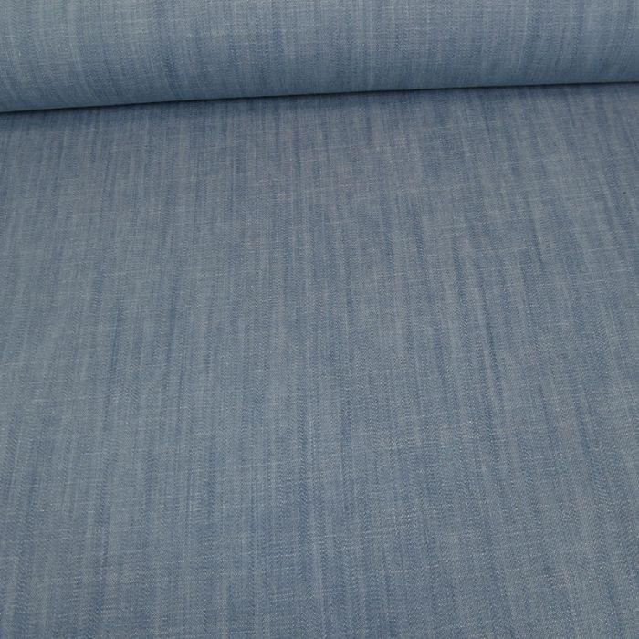 Tissu denim - bleu clair x 10 cm