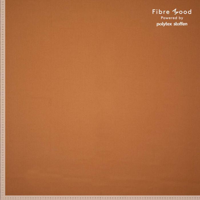 Tissu fibre de bambou amande - Fibre Mood x 10 cm