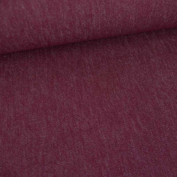 Tissu jean denim - violet x 10 cm