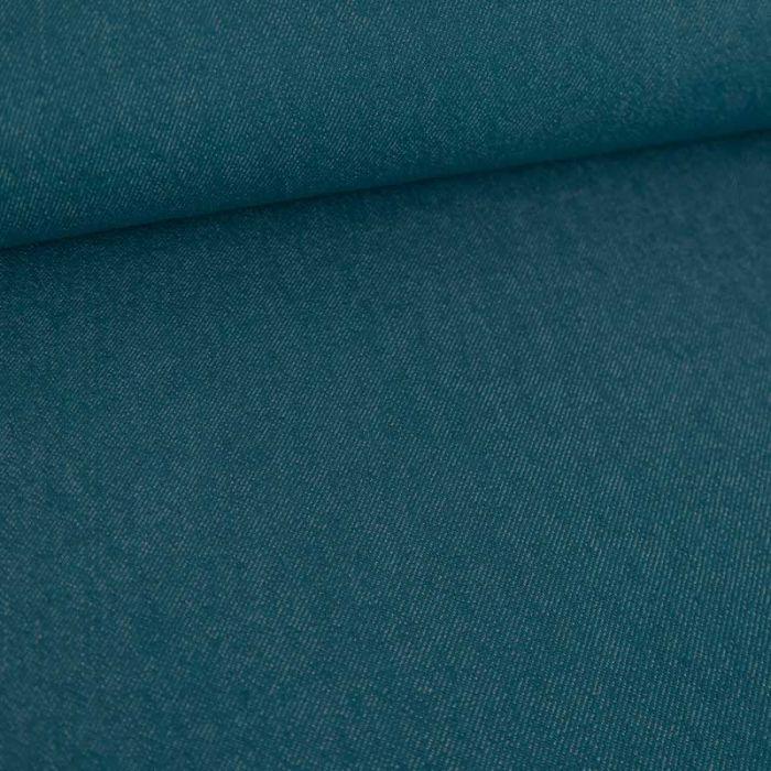 Tissu jean denim - canard x 10 cm