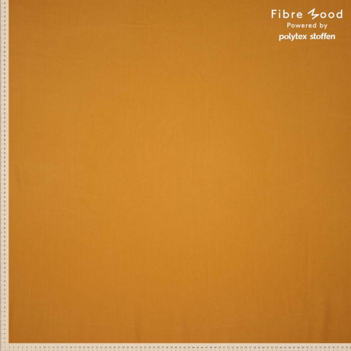 Tissu tencel moutarde - Fibre Mood x 10 cm