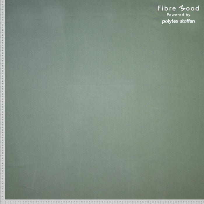 Tissu tencel vert sauge - Fibre Mood x 10 cm