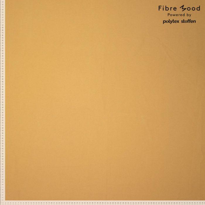 Tissu jean denim jaune maïs - Fibre Mood x 10 cm
