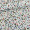 Tissu popeline coton Elisa - bleu x 10 cm