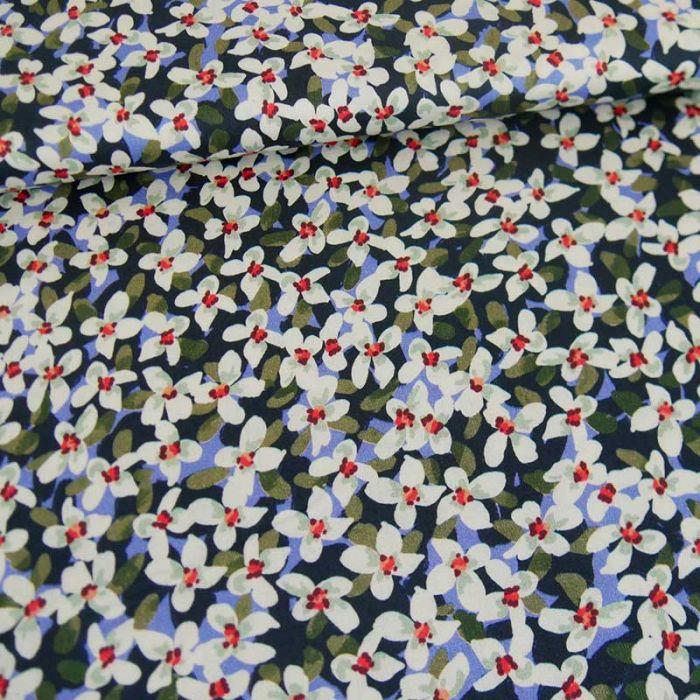 Tissu coton Krabi x 10 cm