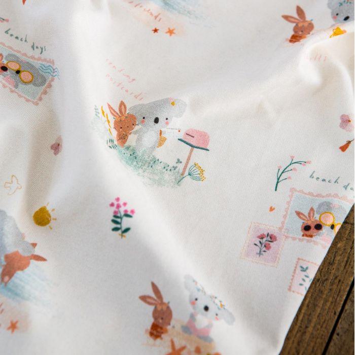 Tissu jersey bio Marcus & Lily - Lise Tailor x 10 cm