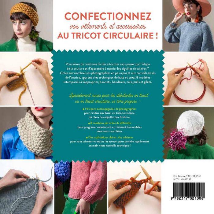 Apprendre le tricot circulaire - Morgane Mathieu