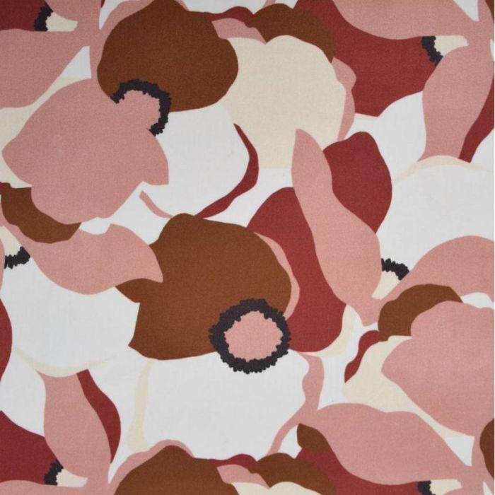 Tissu viscose Magnolia Blossom - Cousette x 10 cm