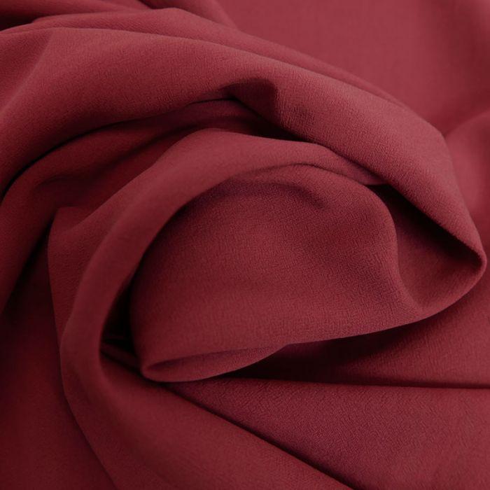 Tissu viscose uni - bordeaux x 10 cm