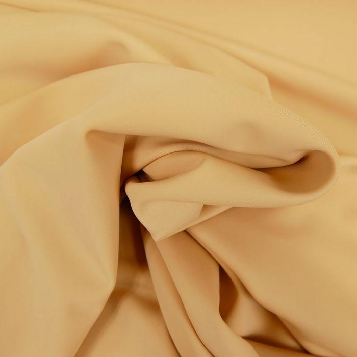 Tissu maillot de bain uni - chair x 10 cm