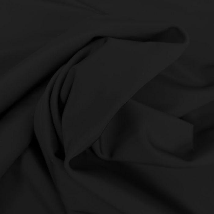 Tissu maillot de bain uni - noir x 10 cm