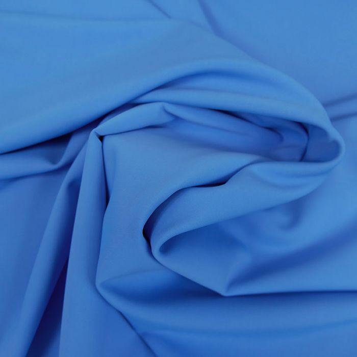 Tissu maillot de bain uni - bleu x 10 cm