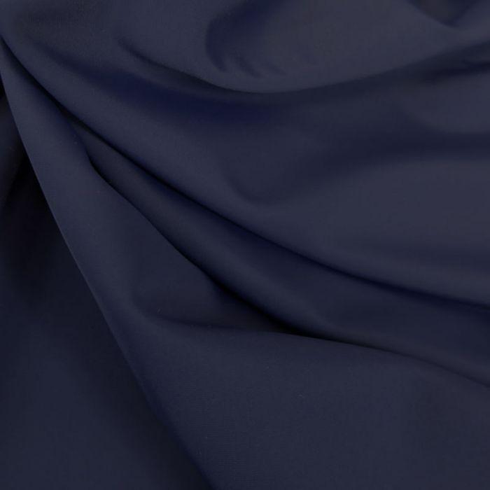 Tissu maillot de bain uni - bleu marine x 10 cm