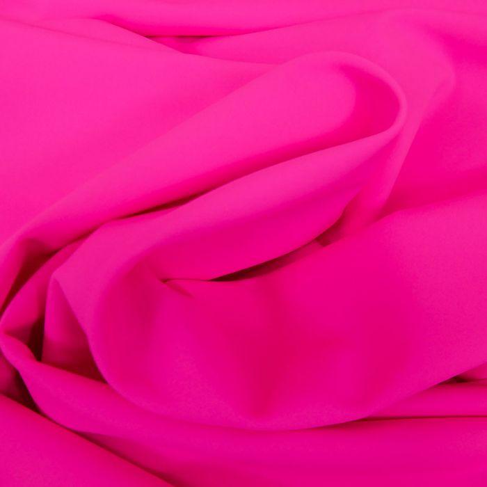 Tissu maillot de bain uni - rose x 10 cm