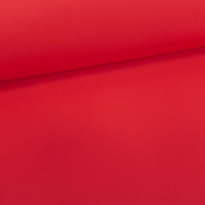 Tissu maillot de bain uni - rouge x 10 cm