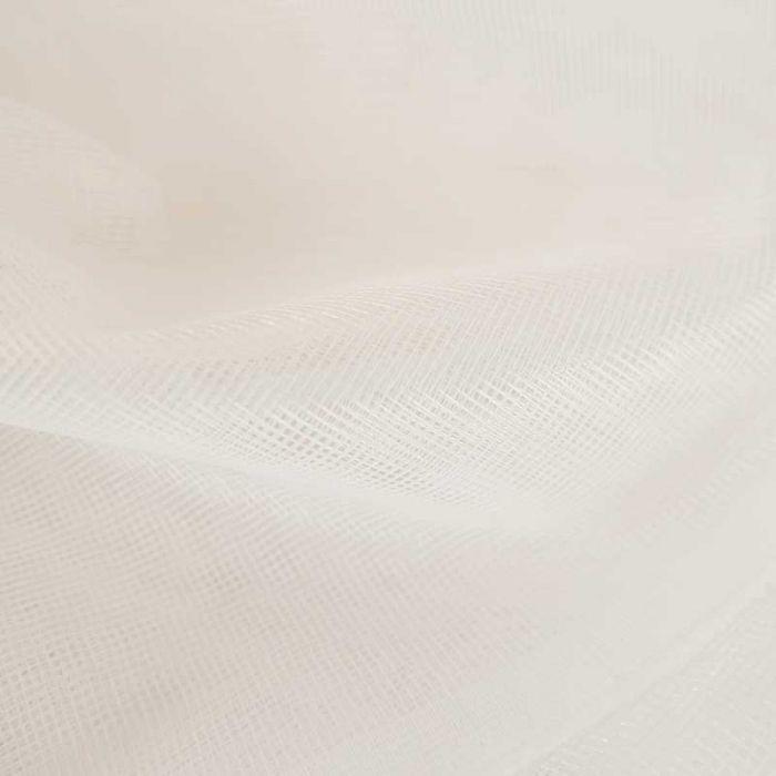 Tissu Moustiquaire - blanc x 10cm