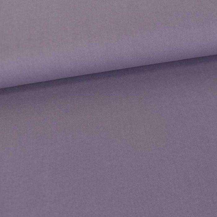 Tissu coton popeline bio - lavande x 10 cm