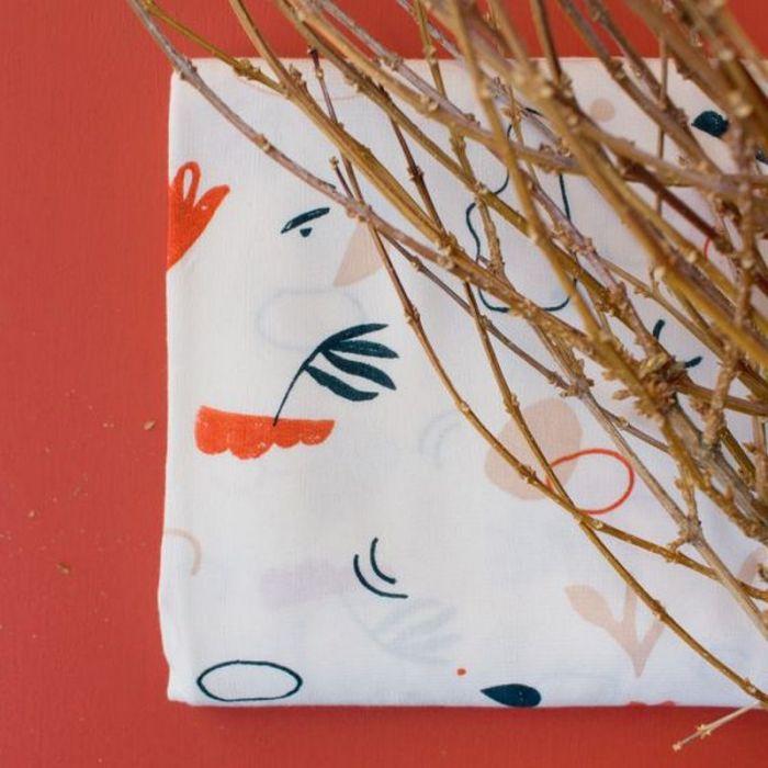 Tissu Sandstorm Off-White - Atelier Brunette x 10 cm