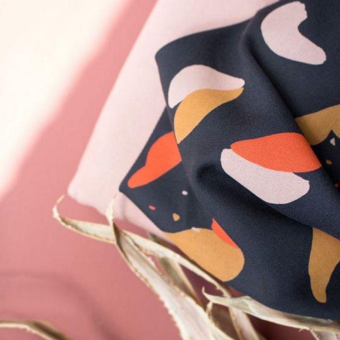 Tissu Oasis Night - Atelier Brunette x 10 cm