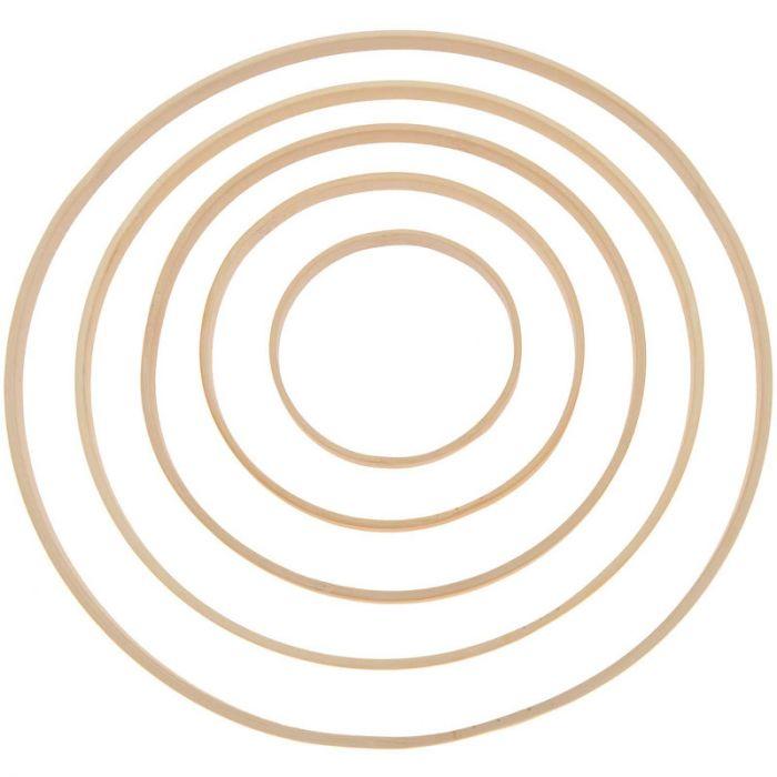 Anneau en bambou - Rico Design