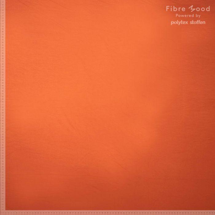 Tissu jersey de bambou orange - Fibre Mood x 10 cm