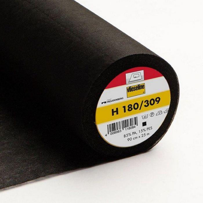 Entoilage thermocollant Vlieseline H180 - noir