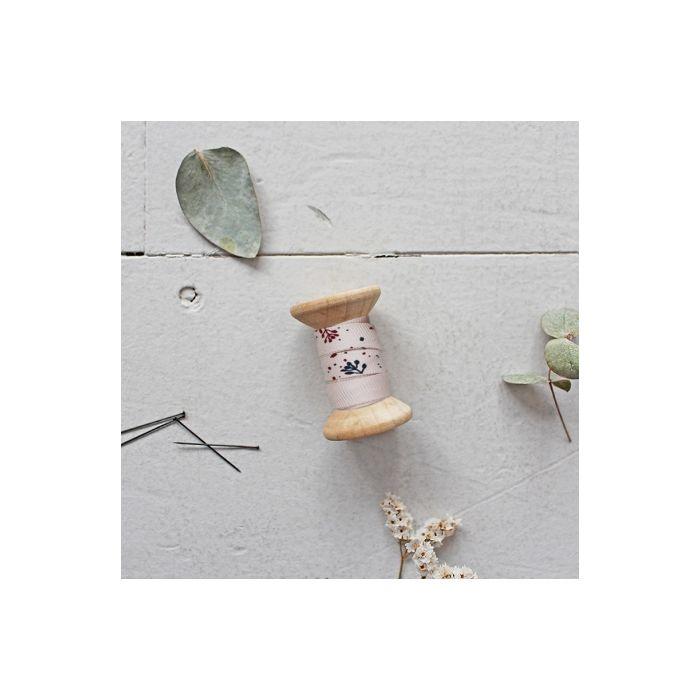 Biais twill de viscose Twig blush - Atelier Brunette x 10 cm