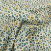 Tissu coton pétales - canard x 10cm
