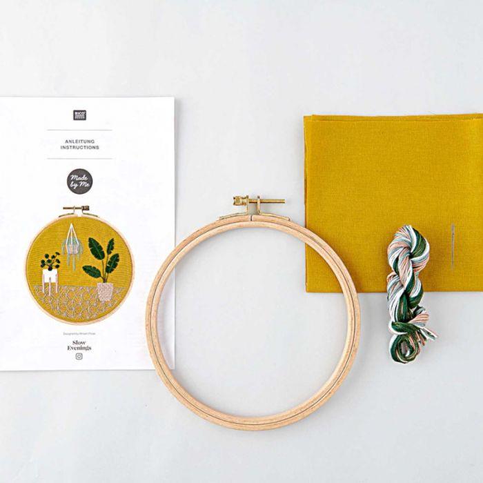Kit broderie Jungle urbaine - Rico Design